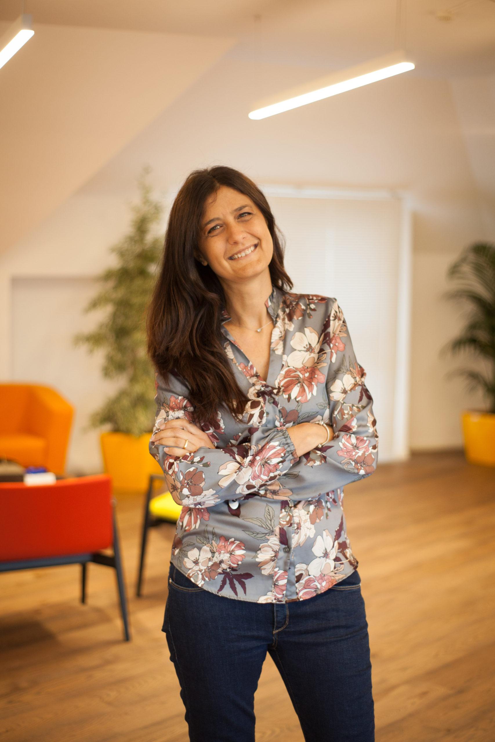 A portrait of CyberEthics Co-Founder Carmela Occhipinti